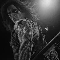 Winter Soldier White Charcoal W.I.P