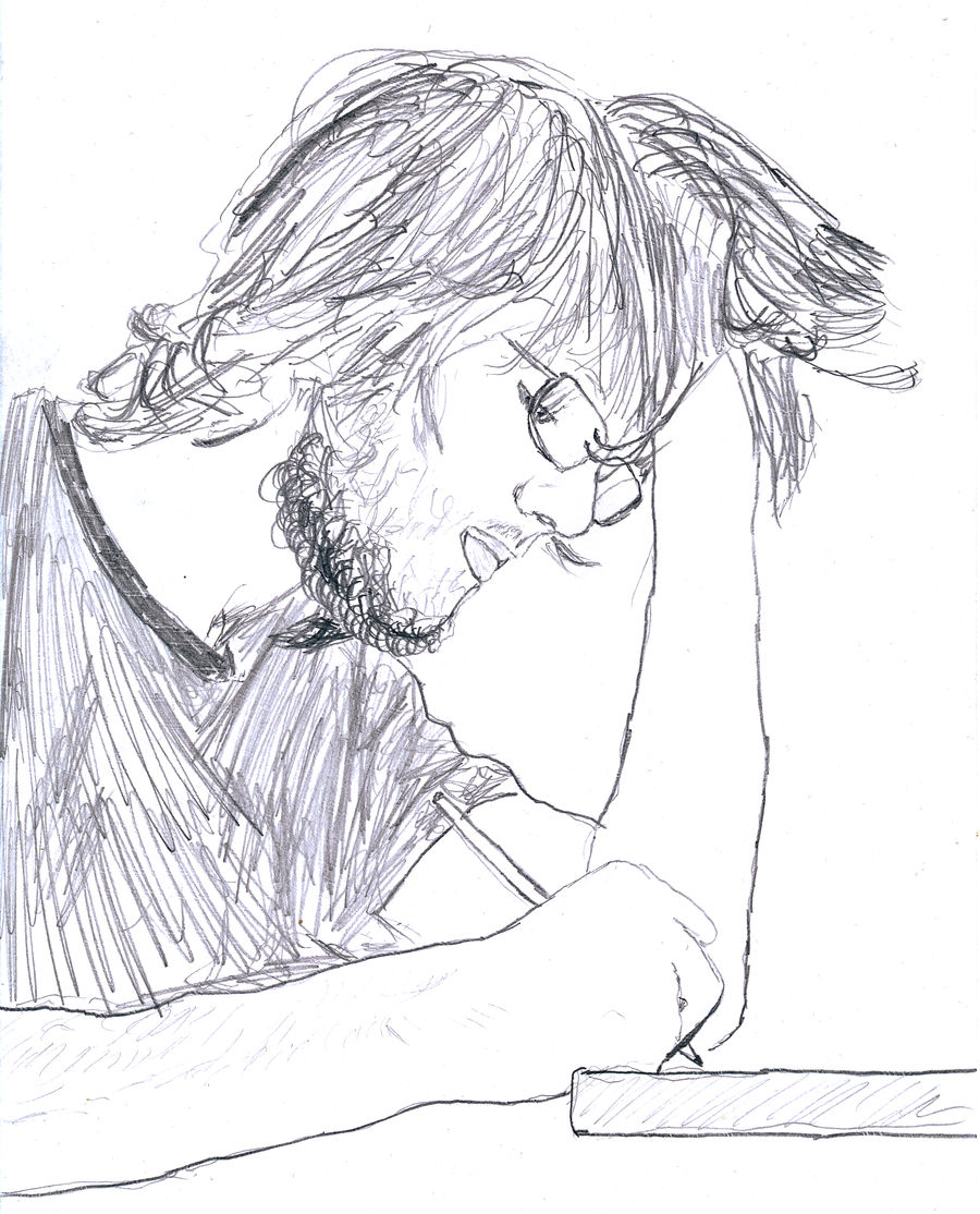 Andrew writing
