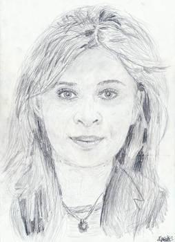 Olga Kojevnikova, etudiante jeune du Luxembourg