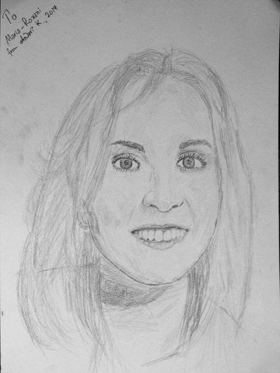 Marie-Roxani Karidi (a quick sketch) by f1f1s