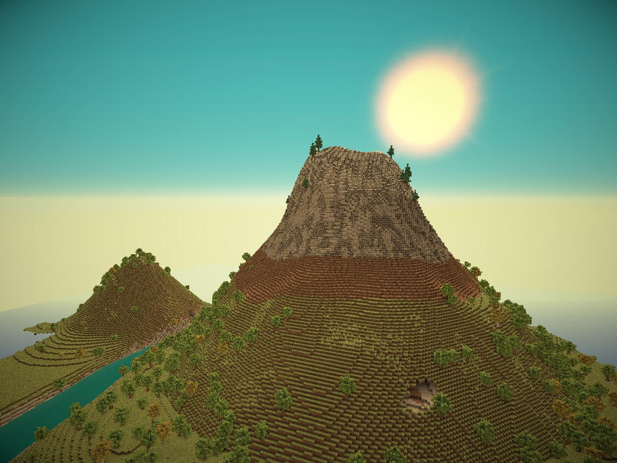 Surv] Mountain/Volcano Survival [2,000 Downloads] - Maps - Mapping ...