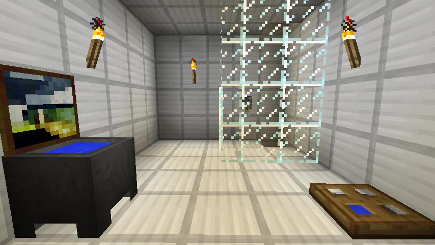 Minecraft Bathroom By Dakwater On Deviantart