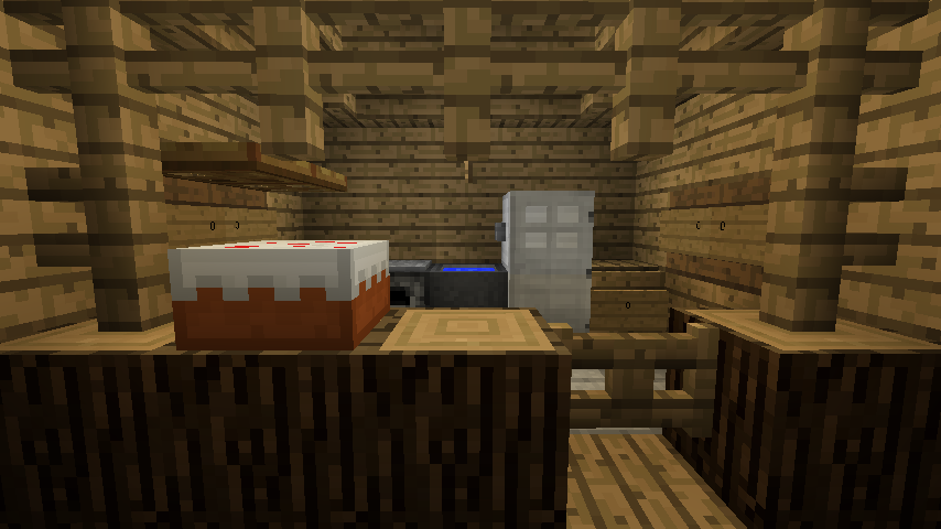 Minecraft kitchen by dakwater on deviantart for Kitchen ideas minecraft