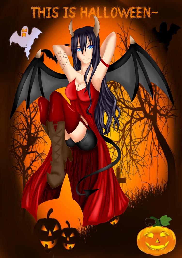[KA]Alexie Halloween by Laslina