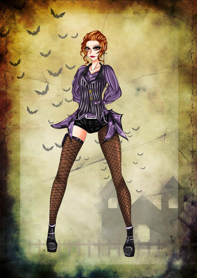 Heyley Halloween by Laslina