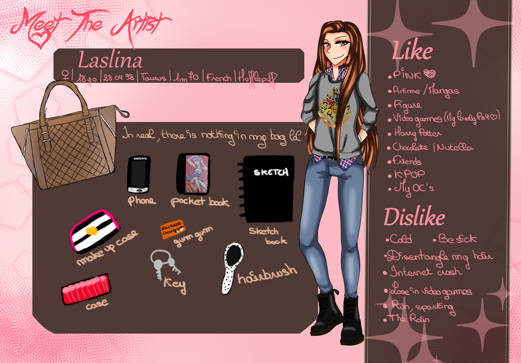 Meet the artist by Laslina