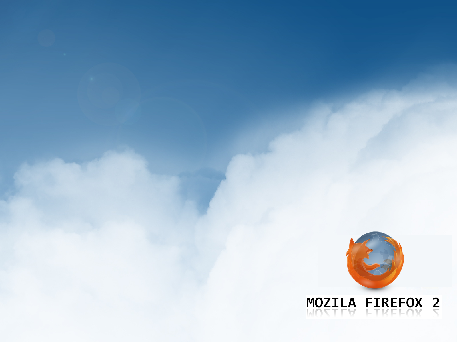 Firefox clouds by tonev