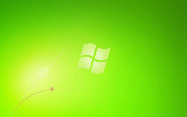 win7_green_starter_Wall by tonev