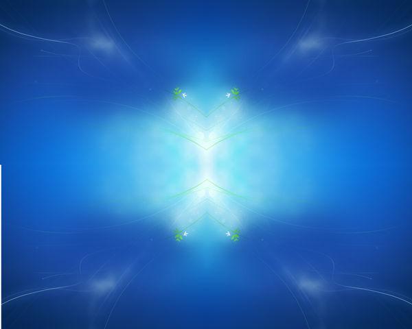 HD windows 7 wallpaper blue
