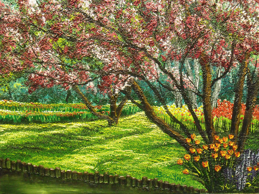 Spring Garden by DonBowling