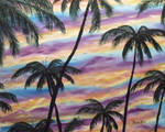 Palms At Dawn