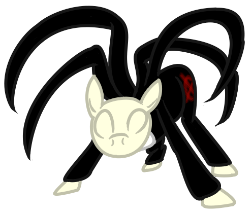 Slender Mane Wants to Battle by Brookreed