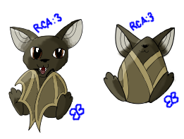 Chibi Bat Adoptable by Brookreed