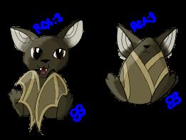 Chibi Bat Adoptable by Brookreed