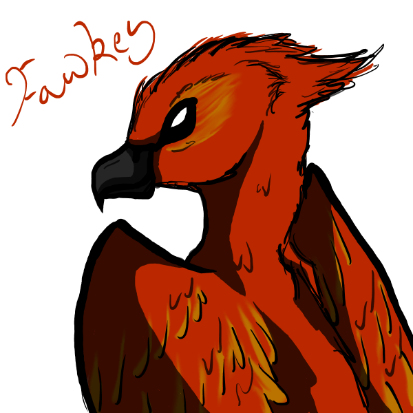 Fawkes the Phoenix by Brookreed
