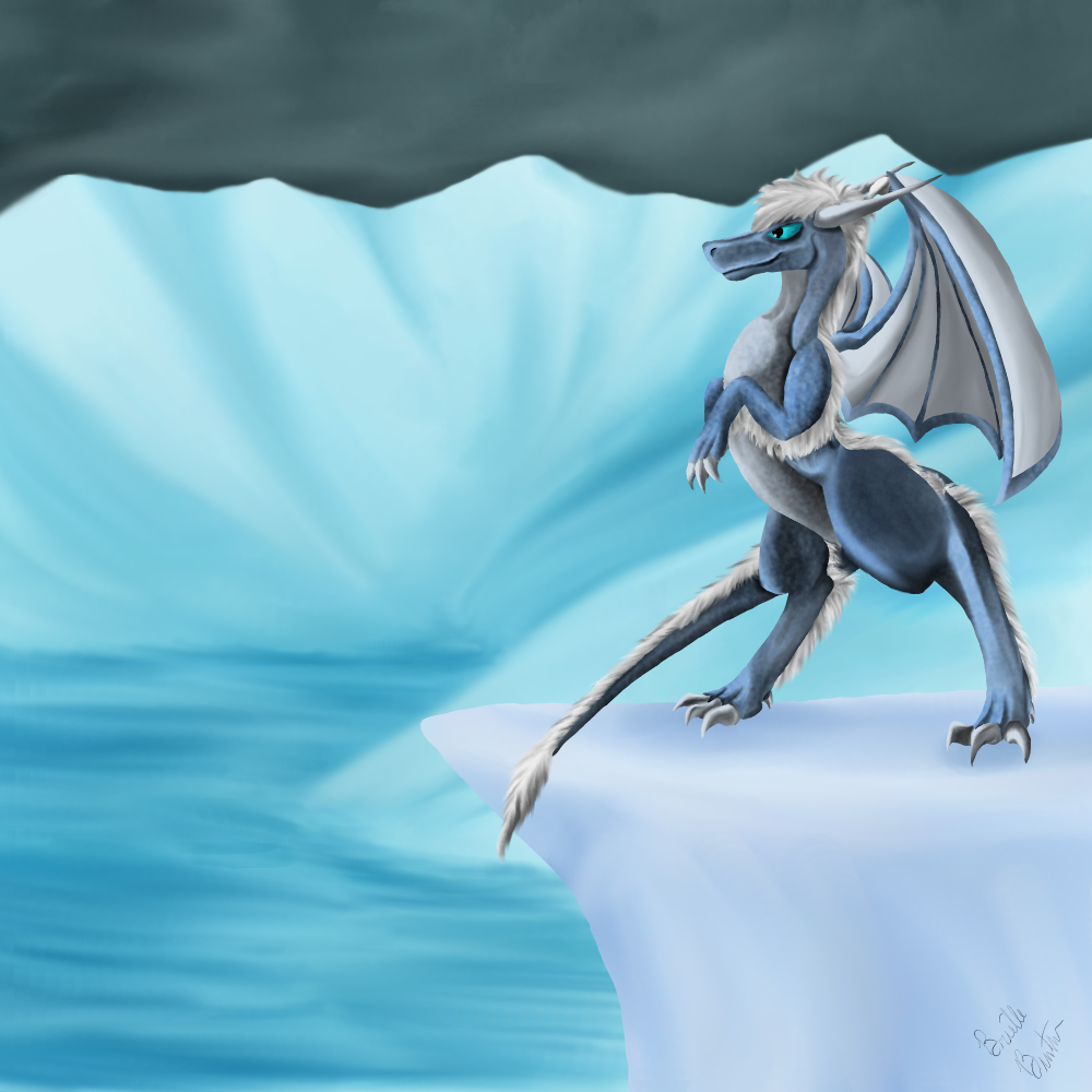 Jack Frost Dragon by Brookreed
