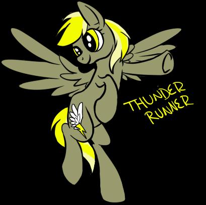 Thunder Runner by Brookreed