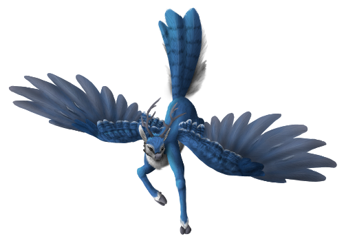 Blue Jay Peryton by Brookreed