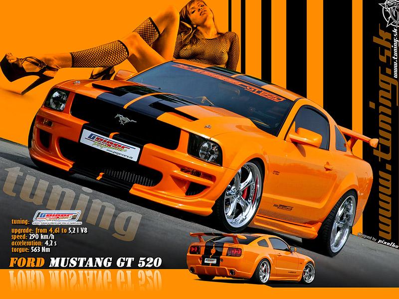 Ford Mustang Gt Wallpaper By Tuningmagnet On Deviantart