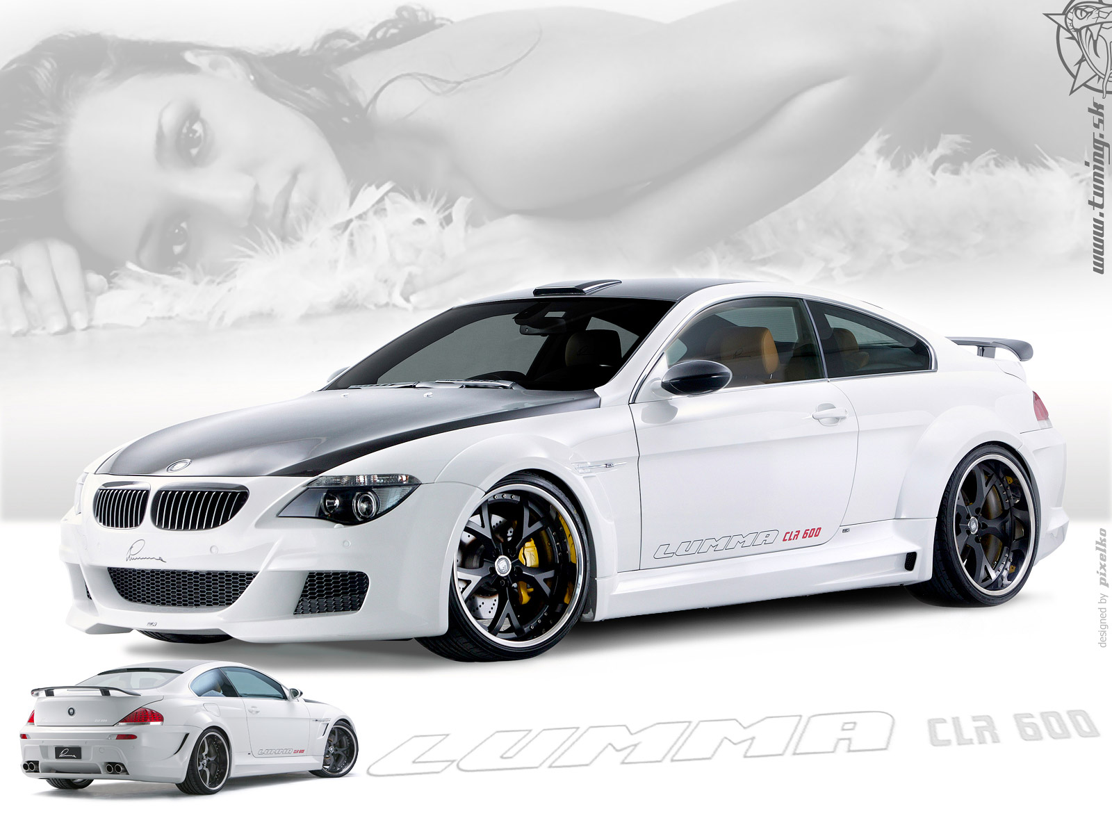 autos wallpapers bmw m6 tuning. Black Bedroom Furniture Sets. Home Design Ideas