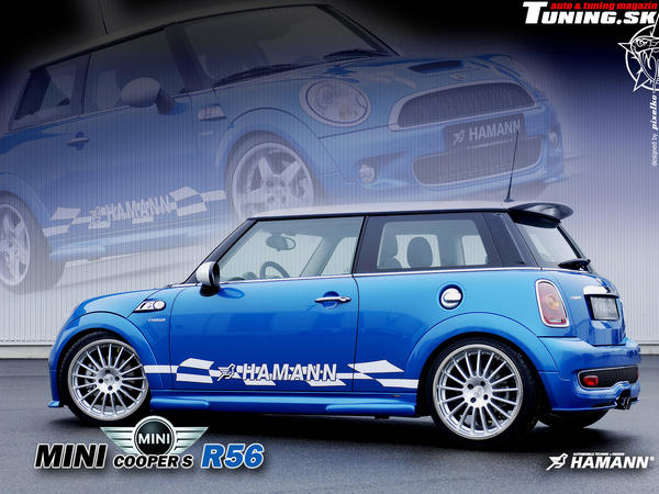 mini cooper s r56 tuning by ha by tuningmagnet on deviantart. Black Bedroom Furniture Sets. Home Design Ideas