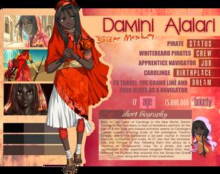 [OC Profile] Damini Alalari by Kemmasandi