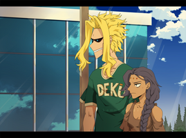 [ BnHA ] The Perks of Being Coworkers by Kemmasandi