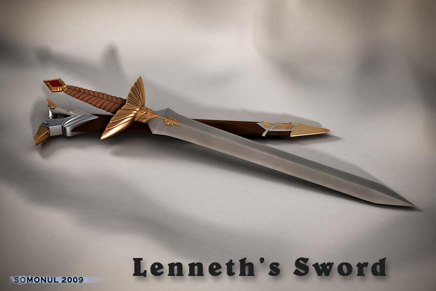 Lenneth's Sword by Somonul