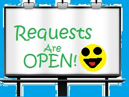 REQUESTS ARE OPEN!!! by PhoenixNinja66