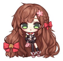 [Commission] Sakura by aienai