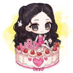 [Fanart] Happy HeeJin Day!