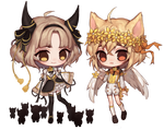 [Commission] Kyra + Freyr