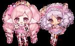 [Commission] Pearl Puff + Marolina