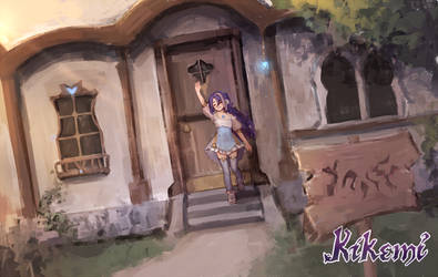 [Kikemi] Mireoh's Little Alchemy Shop by aienai
