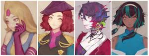 [Commission] Messy Portraits ! Batch #2