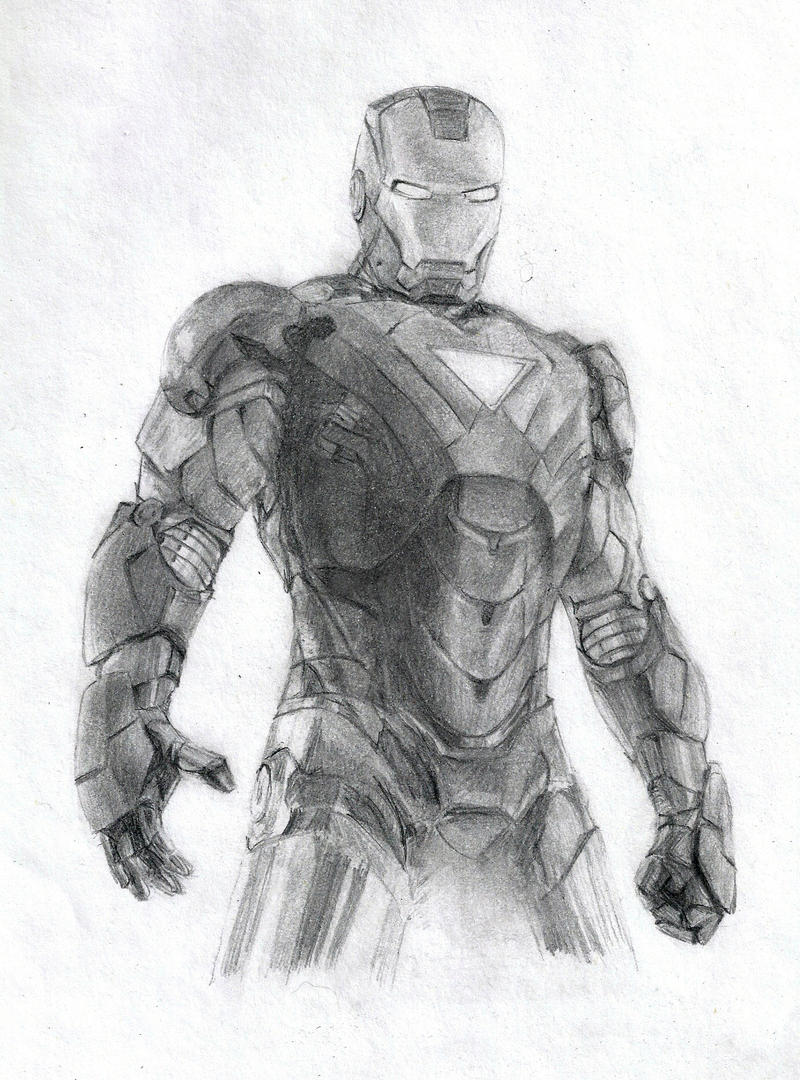 Iron Man by HenchGoose