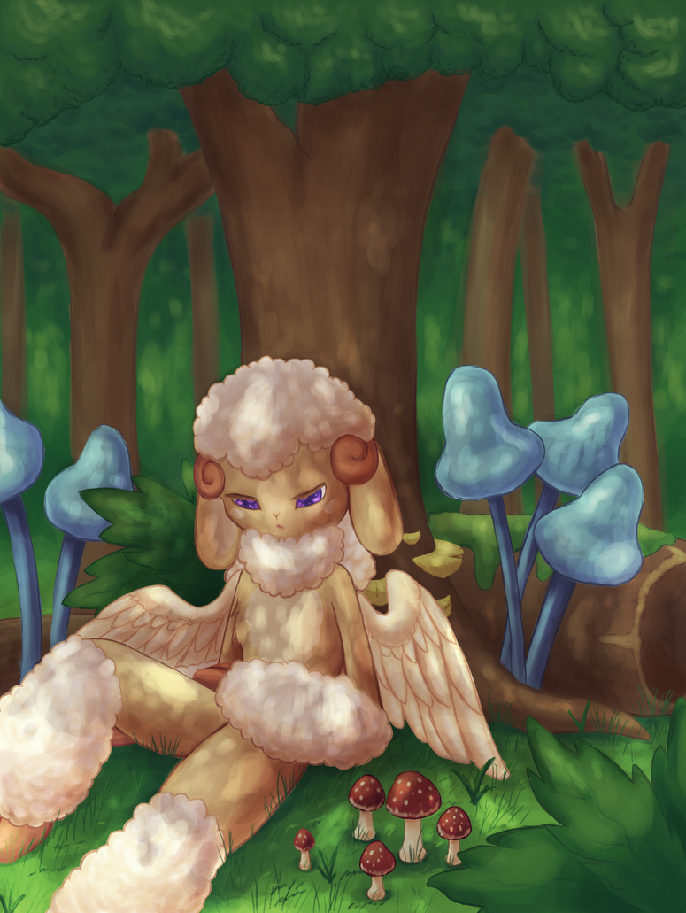 Forest Rest by Rika-of-Thunder