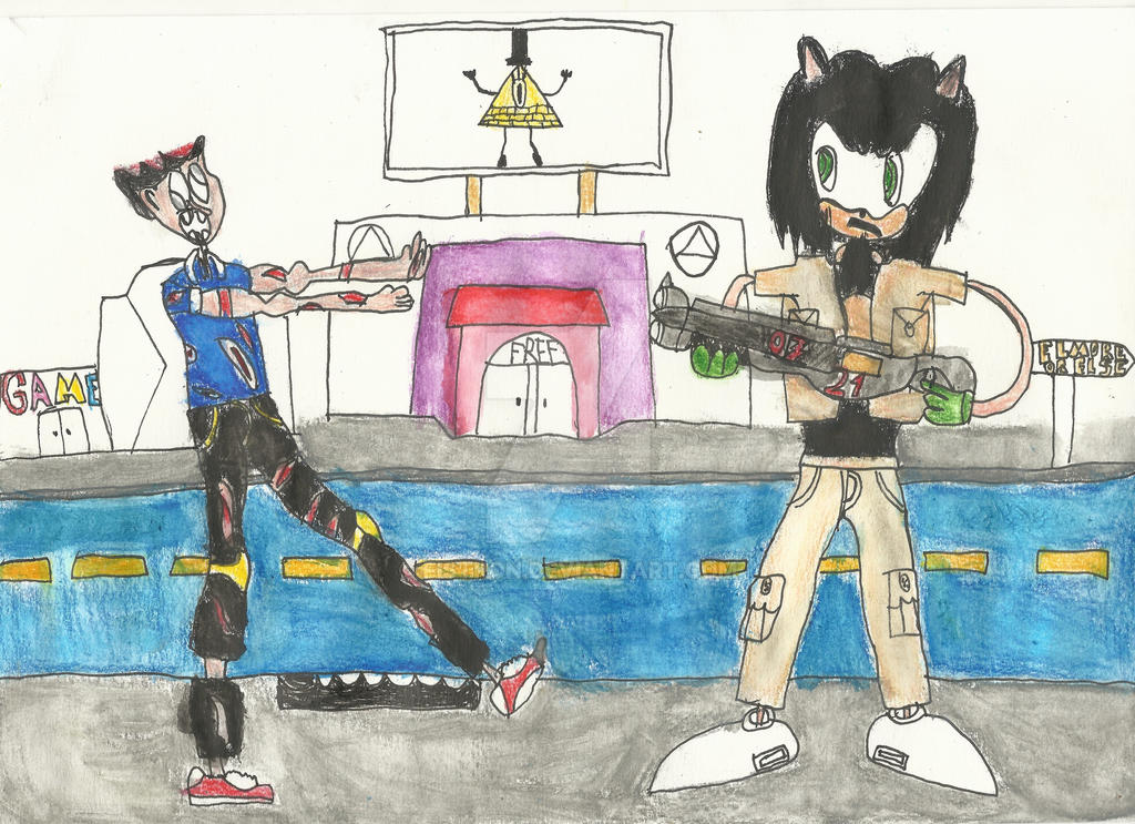 HalloWHAT? ! #1 : Myself as Undead VS Jack  by Fistron