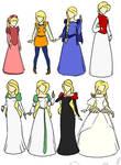 Swan Princess Dresses