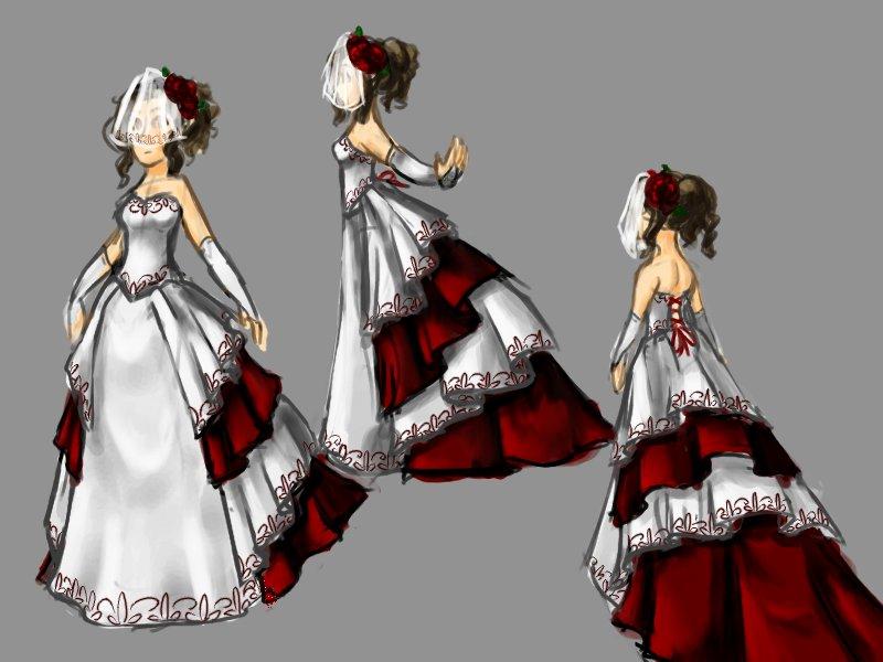 Wedding Dress by WhateverCat
