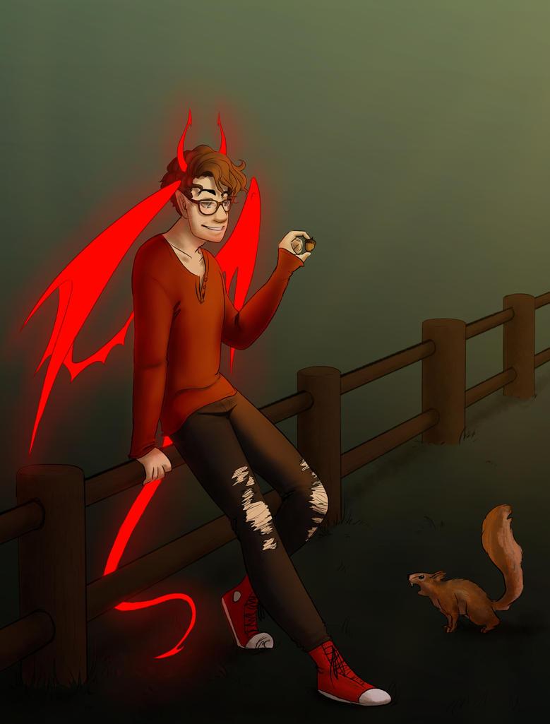 Demon by WhateverCat