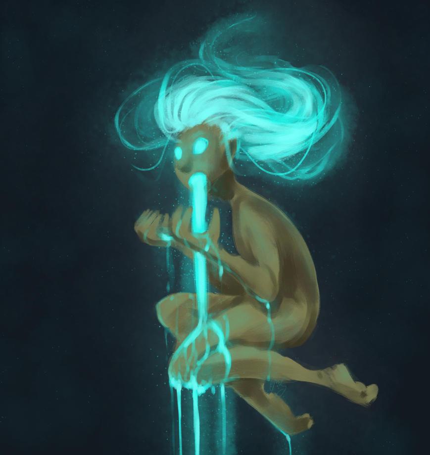 Blue Glow by WhateverCat