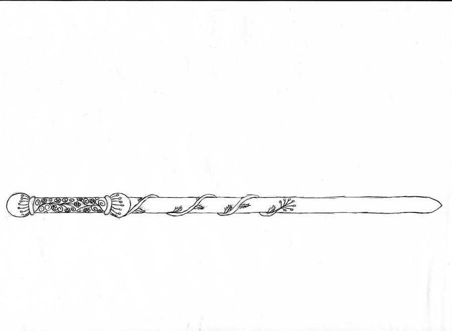 My Harry Potter Wand by pookiecatx on DeviantArt