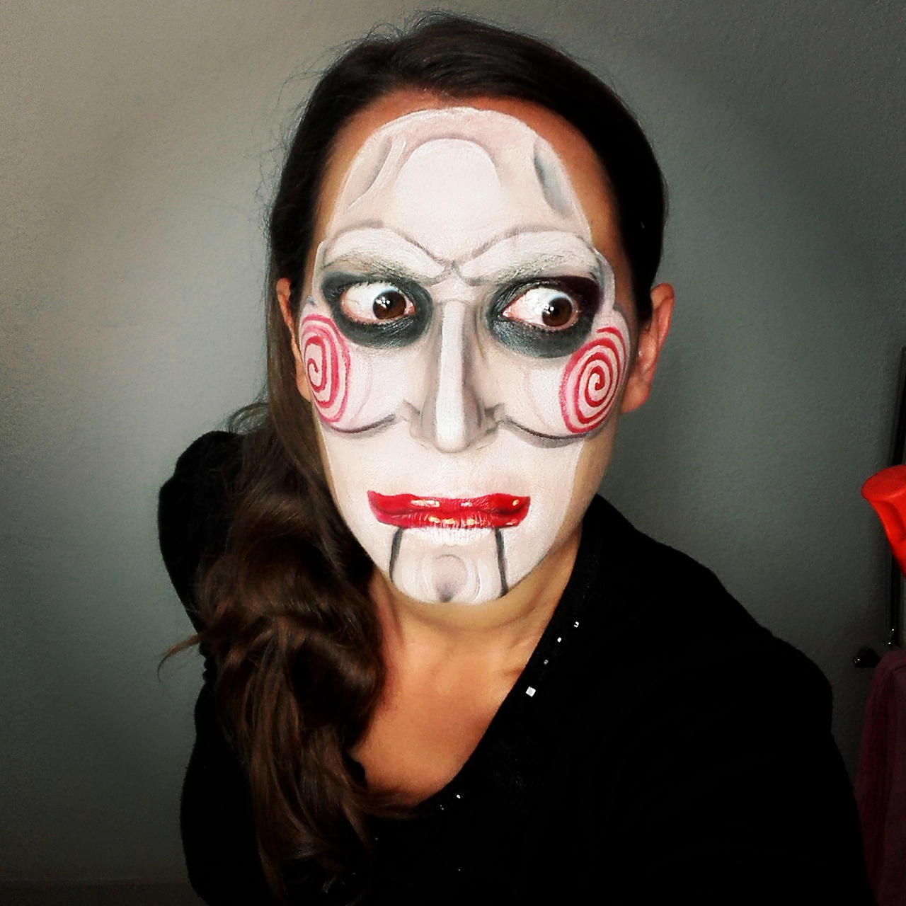 Billy The Puppet Makeup By