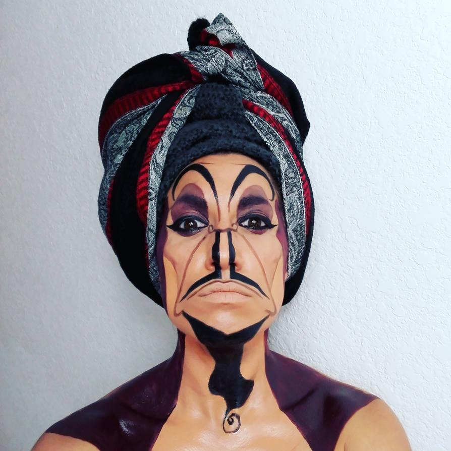 Jafar Makeup By Sarahmagicmakeup On