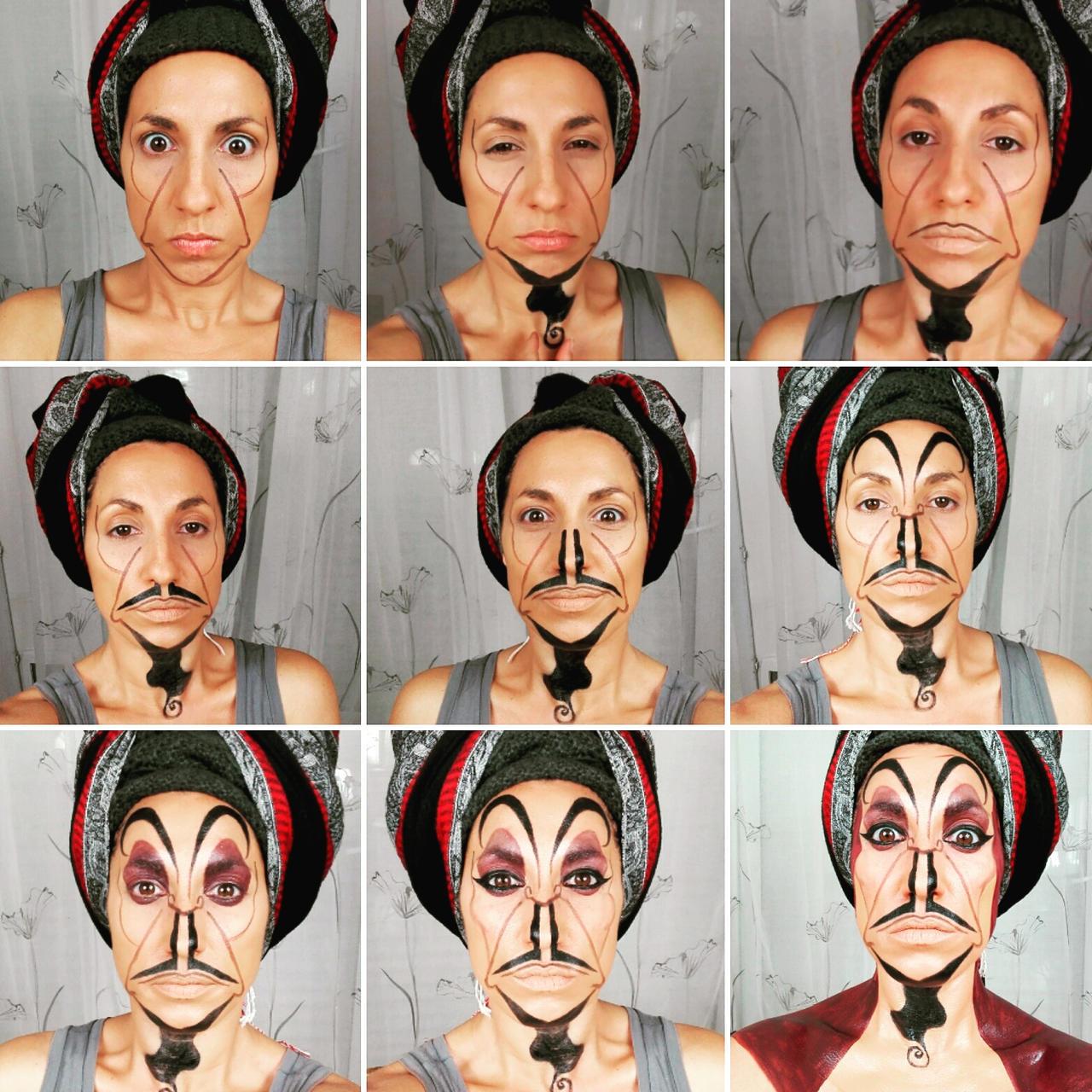 Jafar Makeup Step By Tutorial