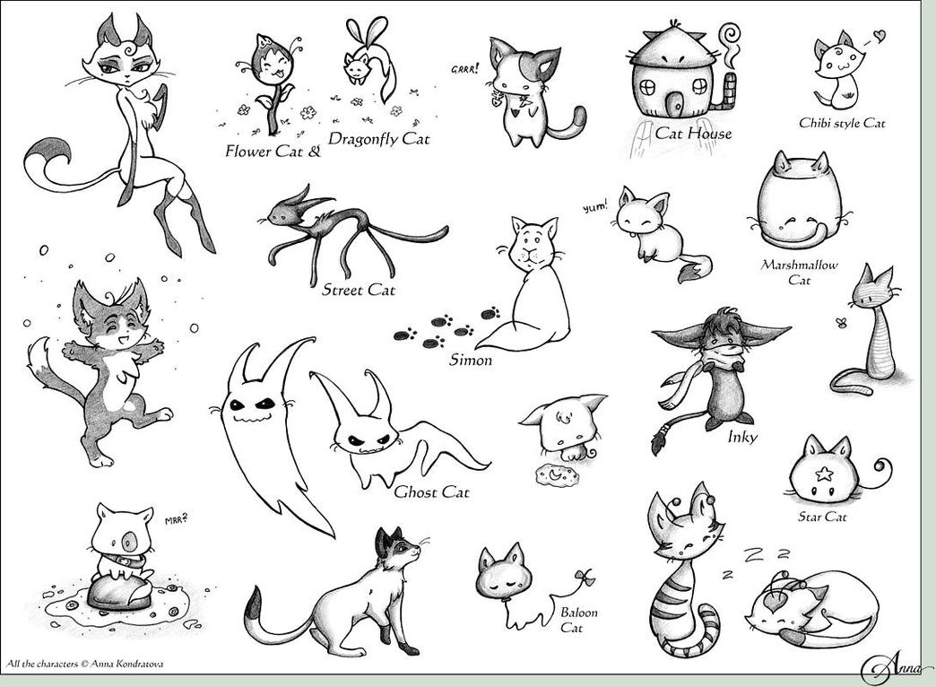 Drawing Cat Baby