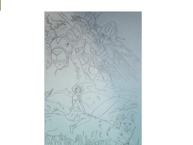 Mononoke Hime by FireNationPhoenix