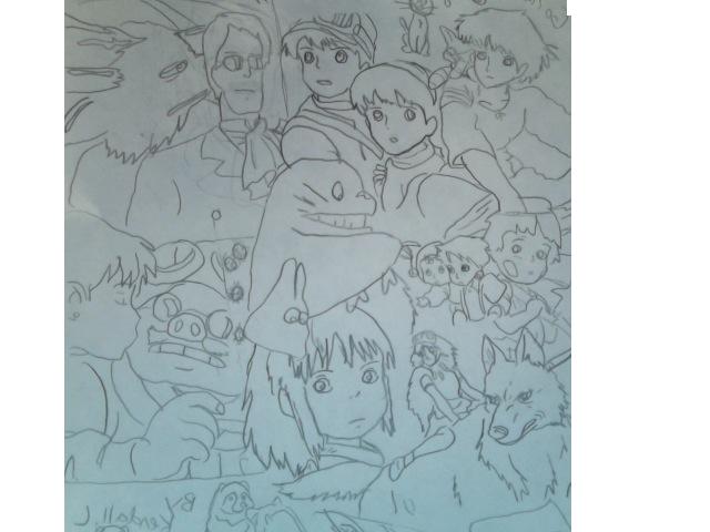 Ghibli clutter 2 by FireNationPhoenix