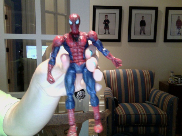 Spiderman 2 2004 figurine by FireNationPhoenix